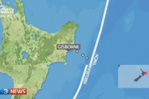 <h2>Drilling off Gisborne to study silent quakes</h2>